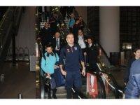 Avrupa'da tur atlayan Başakşehir, İstanbul'a döndü