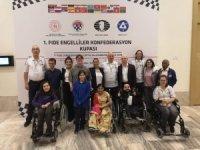 FIDE Engelliler Konfederasyon Kupası'nın şampiyonu Avrupa takımı oldu