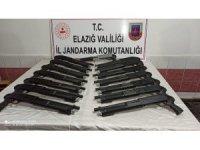 Elazığ'da jandarma  15 adet pompalı tüfek ele geçirdi