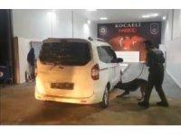 TEM Otoyolu'nda durdurulan araçtan 35 kilo eroin çıktı