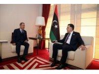 Bakan Akar, Başkanlık Konseyi Başkanı Fayiz es-Serrac ile görüştü