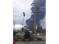 İSDEMİR'de patlama (1)