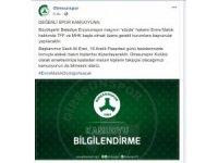 Giresunspor'dan Emre Malok açıklaması