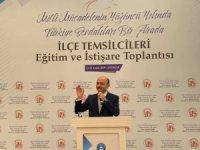 Türk Eğitim-Sen İlçe Temsilcileri Eğitim ve İstişare Toplantısı başladı