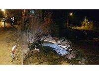 """160 promil alkol ile kullandığı otomobil takla attı, """"araçta başka biri vardı"""" dedi"""