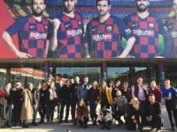 Vali Sonel gönderdi, 24 öğretmen Barcelona'yı gezdi