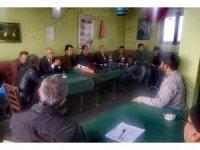 Çiftçi eğitimi ve bilgilendirme toplantısı  düzenlendi