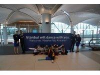 Afrikalı yetim ve öksüz çocuklardan oluşan dans grubu İstanbul'da