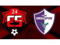 Erzincanspor ile Yeni Orduspor 1-1 berabere kaldı
