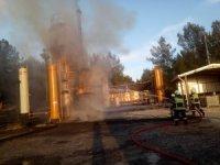 Ham petrol tankında korkutan yangın