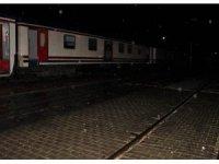 Elazığ'da duran 104 yolculu tren 10 saat sonra hareket etti