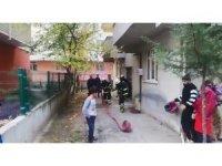 Çerkezköy'de korkutan yangın
