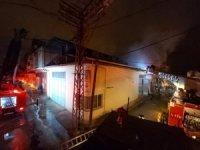 Malatya'da iş yeri yangını korkuttu