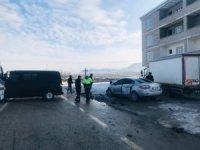 Van'da trafik kazası: 10 yaralı