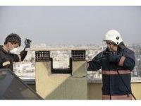 Büyükşehir itfaiye, soba yangınlarına karşı vatandaşları uyardı