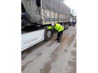 Eskişehir'deki kış lastiği kullanım oranı polisi memnun etti