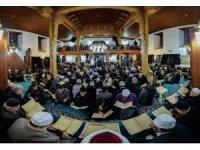 Ayaz Paşa Camii, 'Binbir Hatim' geleneğini sürdüren Erzurumlularla dolup taşıyor