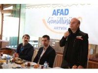 Artvin'de AFAD Gönüllüleri Buluştu