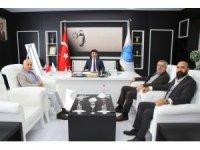 OMÜ'lü Akademisyenleri Rektör Karacoşkun ile bir araya geldi