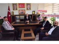 Rektör'den Başkan Ceyhun'a tebrik ziyareti