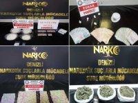 Uyuşturucu operasyonlarında gözaltına alınan 27 kişiden 18'i tutuklandı