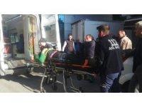 Bafra'da iş kazası: 1 yaralı