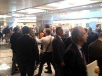 İBB'nin ulaşım çalıştayında taksiciler ve UBER'ciler arasında gerginlik