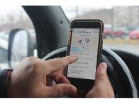 Kocaeli'de sürücüler boş otoparkları bu uygulama ile buluyor