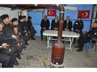 Vali Pehlivan, güvenlik güçlerini yalnız Bırakmadı