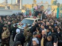 Bağdat'ta Süleymani ve Mühendis için cenaze töreni düzenlendi