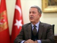 Milli Savunma Bakanı Akar'dan 'Sarıkamış Şehitlerini Anma Günü' mesajı
