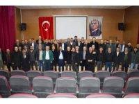 AK Parti Mardin İl Başkanı Kılıç muhtarlar ile bir araya geldi