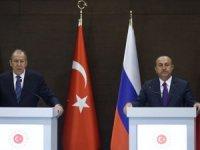 Dışişleri Bakanı Çavuşoğlu: Erdoğan ve Putin Libya için ateşkes çağrısında bulundu