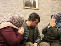 HDP önünde eylem yapan babaanne torununa kavuştu