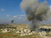 Esed rejiminin İdlib'e saldırılarında 17 sivil hayatını kaybetti