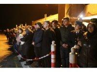 Hakkari şehidinin naaşı memleketi Zonguldak'a getirildi