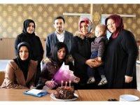Engelli vatandaşa doğum günü sürprizi