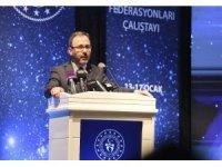 """Bakan Kasapoğlu: """"Sporunun kardeşlik, dostluk ve birleştirici anlayışını hep birlikte hissettik"""""""