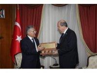 KKTC Başbakanı Tatar, Kayseri Belediye Başkanı Büyükkılıç'ı kabul etti