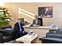 Başkan Öz, Çan için Ankara'da önemli temaslarda bulundu