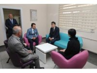 Vali Oktay Çağatay, Sağlıklı Hayat Merkezi'ni ziyaret etti