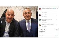 Ruslar, Mevlüt Çavuşoğlu'nu Rusya Milli Teknik Direktörü Çerçesov'a benzetti