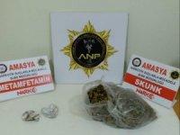 Amasya'da uyuşturucu operasyonu: 2 tutuklama