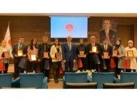 Gaziantep'te başarılı idari yargı personeline plaket