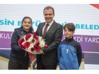 Mersin'de 85 spor kulübüne yardım