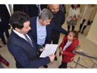 Bünyan Kaymakamı, Belediye Başkanı ve İlçe Milli Eğitim Müdürü, Bünyan MYO'yu Ziyaret Etti