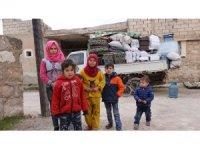 Halep'teki siviller ölümden kaçmaya devam ediyor