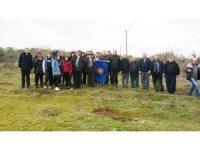 Balyalı öğrenciler 300 fıstık çamını toprakla buluşturdu