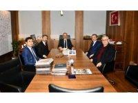 Milletvekili Aydın ve Başkan Kılınç, Karayolları Genel Müdürü Uraloğlu ile görüştü