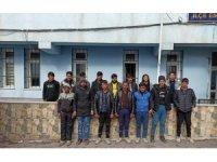 Niğde'de 15 düzensiz göçmen yakalandı